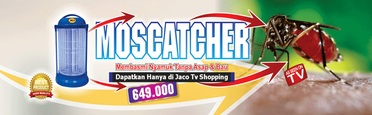 Jaco Moscatcher Penangkap Nyamuk